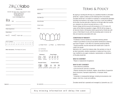 labo Terms & Policy
