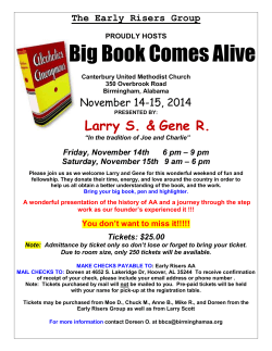 Big Book Comes Alive  Larry S. &