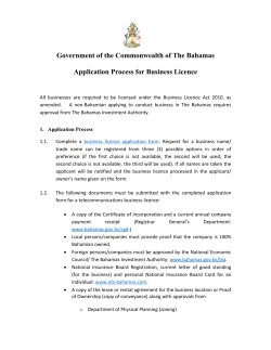 Government of the Commonwealth of The Bahamas