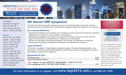 10.25 CME 4th Annual CME Symposium  PHYSICIANS