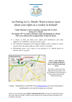 Au Pairing in Co. Meath: Want to know more