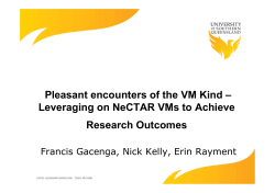 Pleasant encounters of the VM Kind – Leveraging