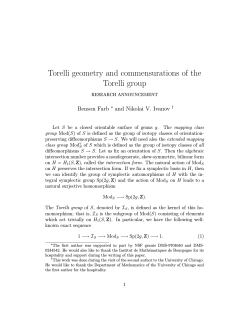 Torelli geometry and commensurations of the Torelli group