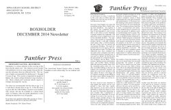 BOXHOLDER DECEMBER 2014 Newsletter - Iowa