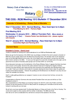 24 Rotary COG Newsletter 17 December 2014