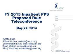 Fy 2015 IPPS Proposed Rule