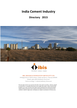 Cement Directory 2015