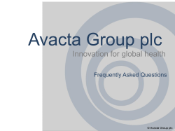 What does Avacta do?