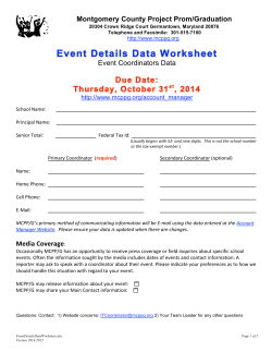 Event Details Data Worksheet