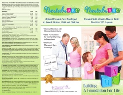 FRONT PDF - Womens Choice Pharmaceuticals