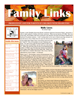 Newsletter, Fall 2014