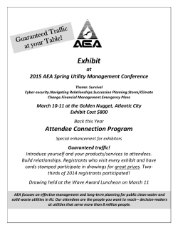 Exhibit - The Association of Environmental Authorities of New Jersey
