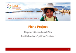 001 Picha Presentation October 2014