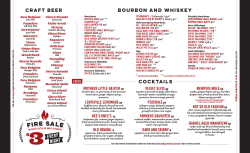 craft beer cocktails bourbon and whiskey