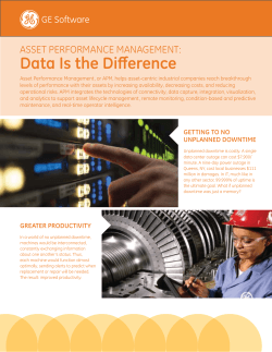 Learn more - GE Software