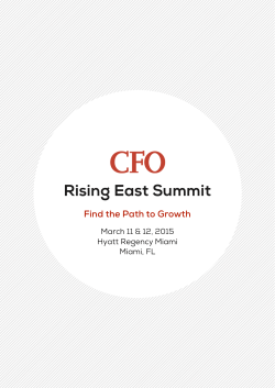 Rising East Summit - The Innovation Enterprise
