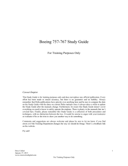 Boeing 757-767 Study Guide - Dave Collett's Study Guide