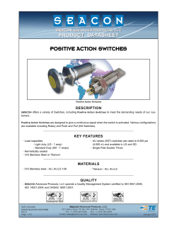 SAPL-DS-0022 Positive Action Switches Rev 6