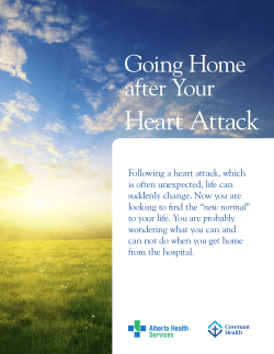 Going Home After Your Heart Attack