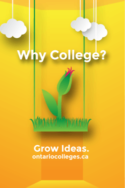 Why College - OntarioColleges.ca