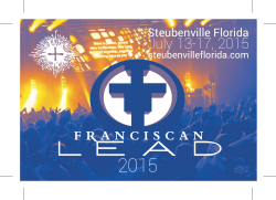 f Steubenville Florida 2015 LEAD Postcard July 17