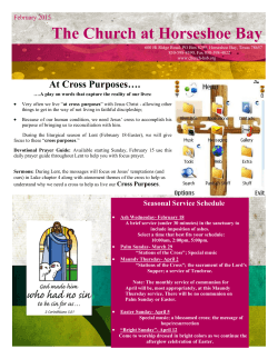 Current Newsletter - Church at Horseshoe Bay