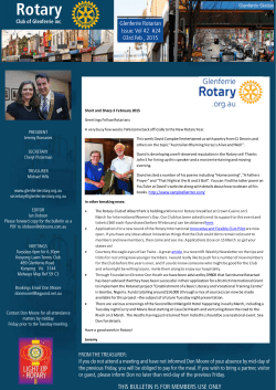 Rotary Club of Glenferrie