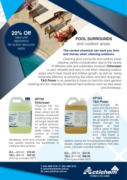 Tile & Grout Care Special - Applied Products Australia