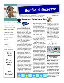 Barfield Gazette