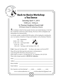 Workshop Flyer/Registration Form.