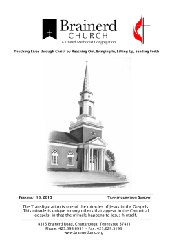 February 15, 2015 - Brainerd United Methodist Church
