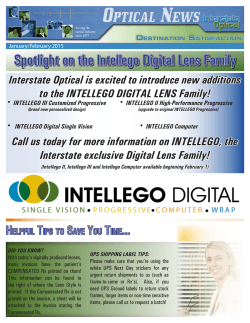 Newsletter - Interstate Optical