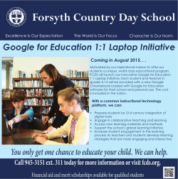 Forsyth Country Day School