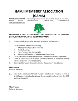 Payment - Gamji Members Association