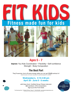 Fitness made fun for kids