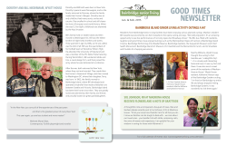 Newsletter - Bainbridge Senior Living