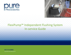 FlexiPump In Service