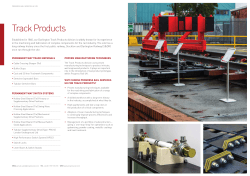 Track Products - Progress Rail Services
