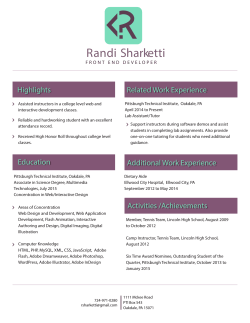 Randi Sharketti - Front End Developer