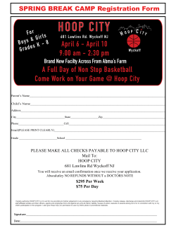 Hoop City - A Basketball Facility in Wyckoff NJ