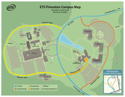 ETS Princeton Campus map