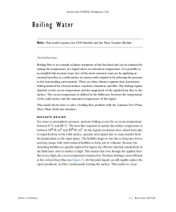 Boiling Water - COMSOL.co.in