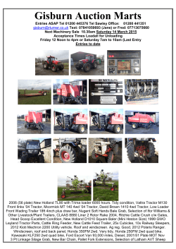 Gisburn Auction Marts Limited