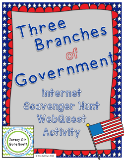 Three Branches Webquest