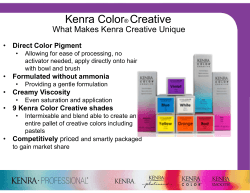 Kenra Color® Creative