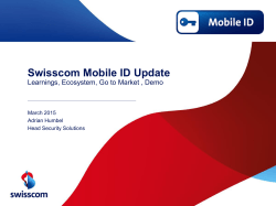 Swisscom Mobile ID Update