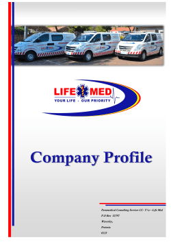 Paramedical Consulting Services CC