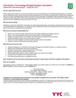 Information Technology Budget Analysis Assistant (student position)