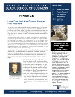 Spring 2015 Black School Finance Newsletter