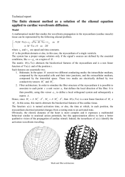 The finite element method as a solution of the eikonal equation